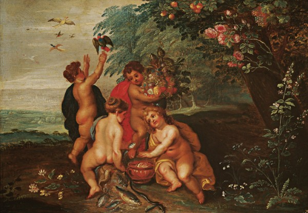 Hendrick van Balen – Jan st. Brueghel, Alegória štyroch elementov