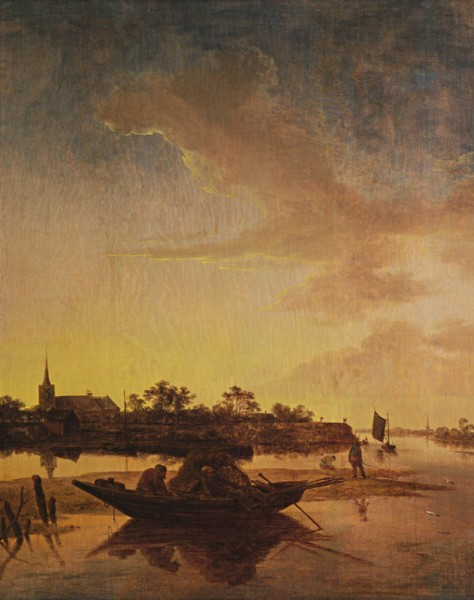Salomon van Ruysdael, Rybári v morskej zátoke