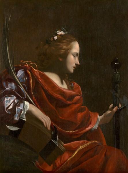 Simon Vouet, Sv. Katarína Alexandrijská