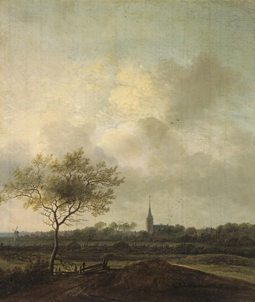 Anthonis Jansz. van der Croos, Krajina s kostolíkom v Rijswijcku