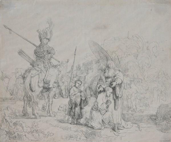Rembrandt, Harmensz. van Rijn, Krst eunucha