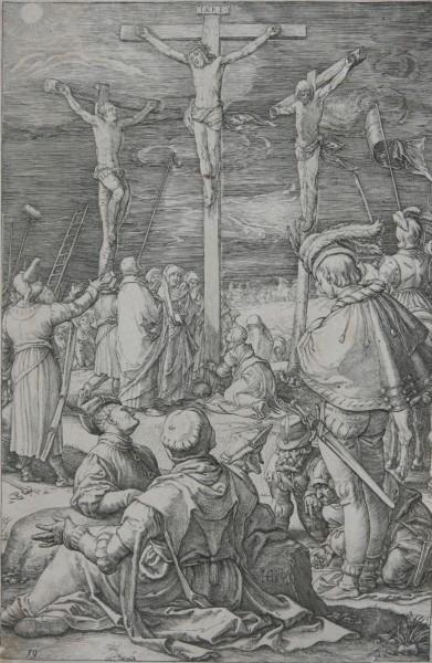 Hendrick Goltzius, Ukrižovanie (X)