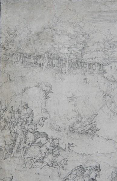 Lucas van Leyden, Obrátenie sv. Pavla