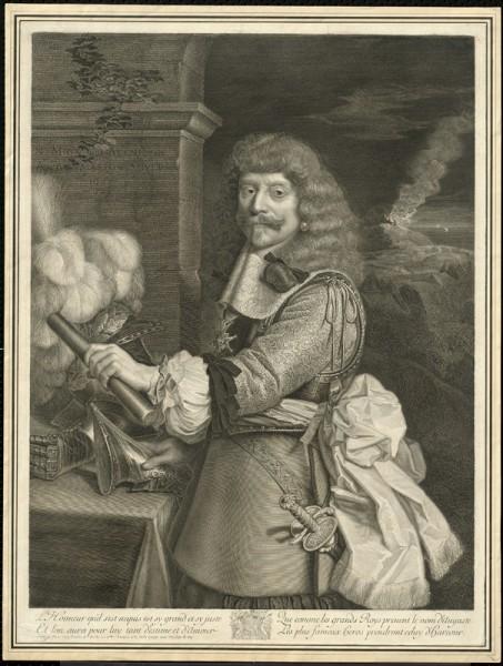 Antoine Masson – Nicolas Mignard, Comte de Harcourt