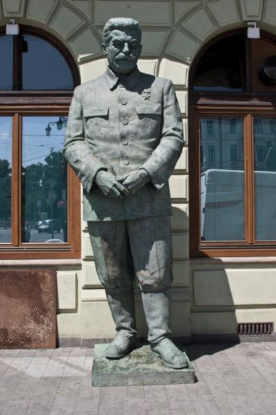 Pavol Bán (spolupráca Jozef Mazan), Pomník generalissima J.V. Stalina pred rokom 1949