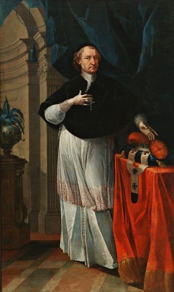 Jozef Kurtz,  Portrait of Archbishop Imrich Esterházy