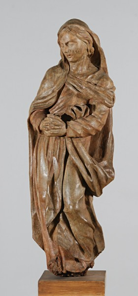 Unknown /slovak (?)/ wood-carver of 17th century,  Mary, Our Lady of Sorrows