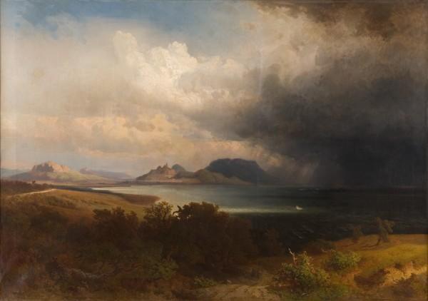 Alexander Brodszký, Búrka nad Blatenským jazerom