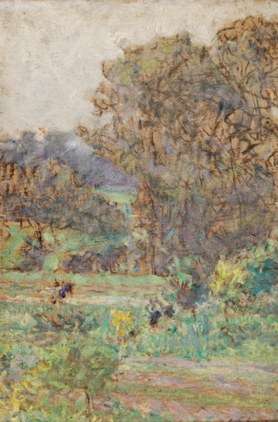 Maximilián Schurmann, Záhrada Clauda Moneta