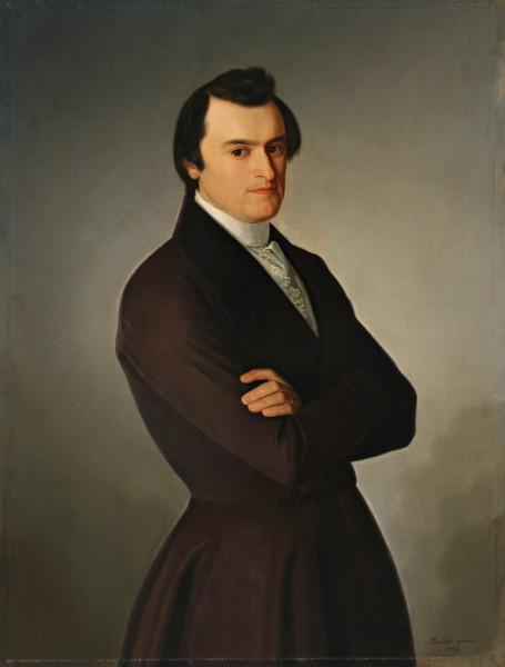Jozef Božetech Klemens, Portrét M. M. Hodžu