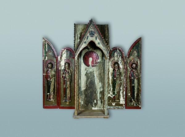 Tabernákulový oltár z Vojnian, Spiš