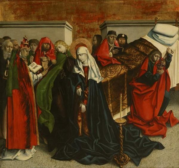 Tabule Mariánskeho oltára zo Spišského Podhradia