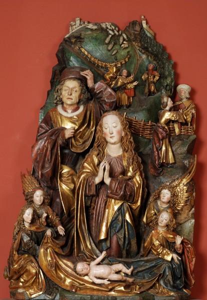 """Narodenie """"z Hlohovca"""" (pôvodne z Dómu sv. Martina v Bratislave)"""