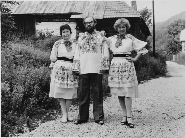 Július Koller, Univerzálne folkloristické originály (U.F.O.) – Čičmany