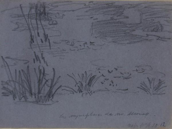 Maximilián Schurmann, Water-lilies in Claude Monet´s Garden