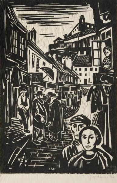 Imro Weiner-Kráľ, Židovská ulica