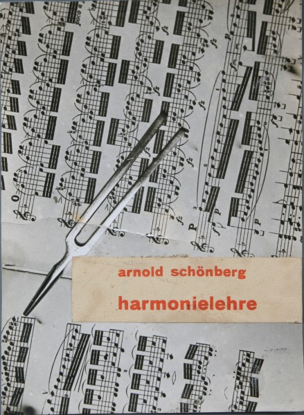 Ladislav Foltyn, Cover for the publication Harmonielehre by Arnold Schonberg (portfolio of student projects from Bauhaus)
