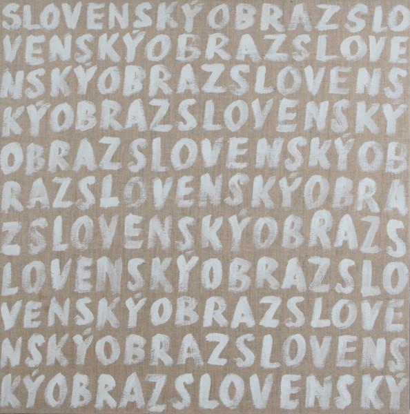Július Koller, Slovenský obraz (Anti-obraz)