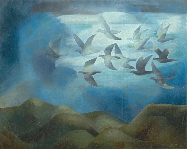 Ester Martinčeková – Šimerová, Vtáci nad horam