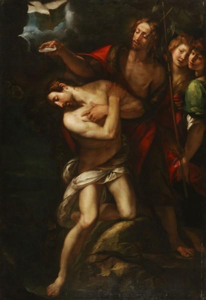 Giulio Cesare Procaccini, Krst Krista