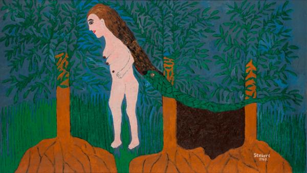 Ondrej Šteberl, Žena s hadom