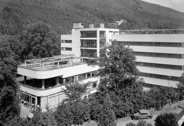 Karel Plicka , Liečebný dom Machnáč v Trenčianskych Tepliciach.