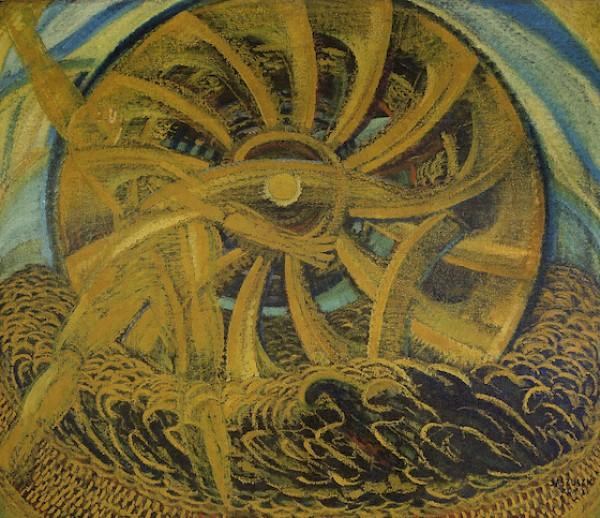 Anton Jaszusch , Žltý mlyn