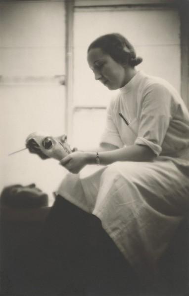 Portrét Dagmar Rosůlkovej - Kubíkovej, Čb fotografia