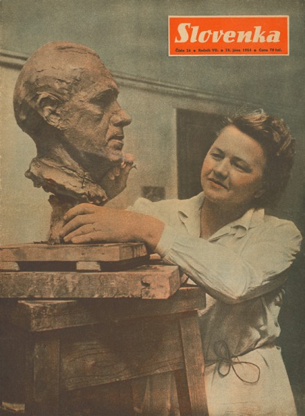 Julie Horová - Kováčiková, 1954