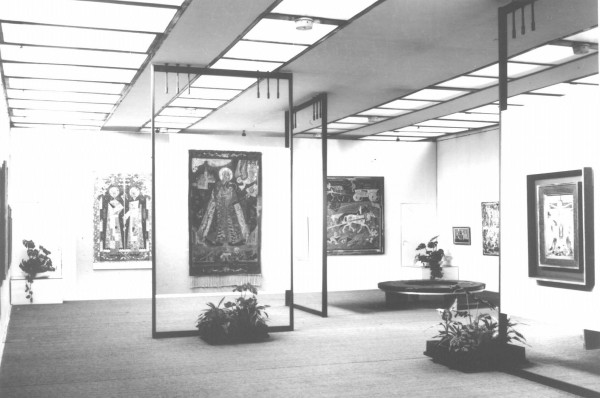 Photo |1-2|: Photo-Department of the Slovak National Gallery, View of the installation of master's art works