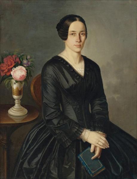 Peter Michal Bohúň, Podobizeň umelcovej manželky