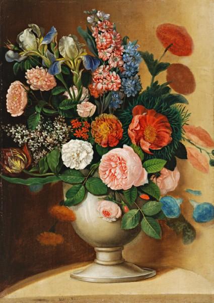 Ignác Klimkovič, Váza so záhradnými kvetmi