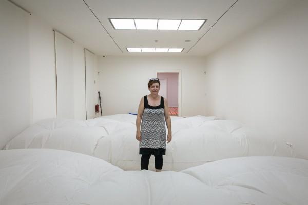 Ilona Németh, Dýchajúca podlaha