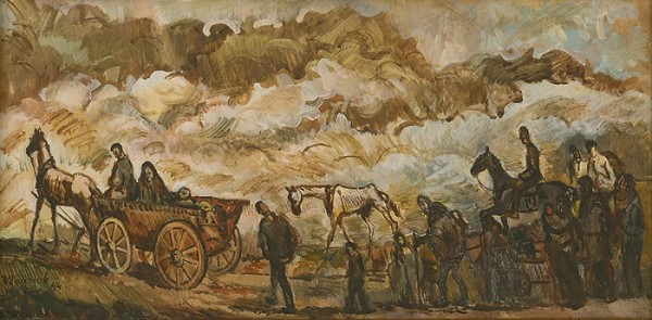 Cyprián Majerník, Utečenci