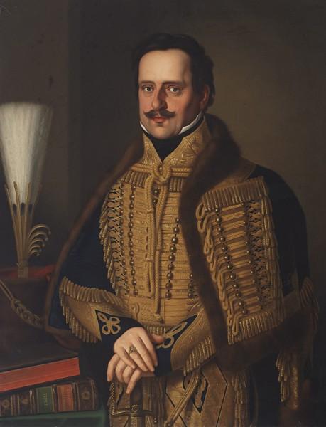 Jozef Czauczik, Portrét spišského hodnostára – grófa Alexandra Csákyho