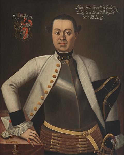 Ján Gottlieb Kramer , Marek Horvath-Stansith ako 29 ročný kapitán