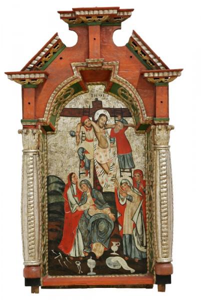 Neznámy ikonopisec , Snímanie z kríža z Nižného Mirošova
