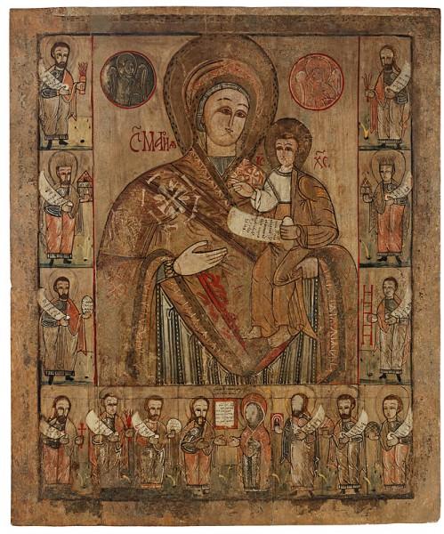 Neznámy ikonopisec , Bohorodička z Bogliarky