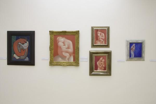 Foto |1-3|: Fotooddelenie SNG, Pohľad do výstavy