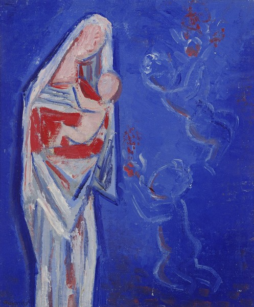 Mikuláš Galanda, Standing Madonna with Little Angels