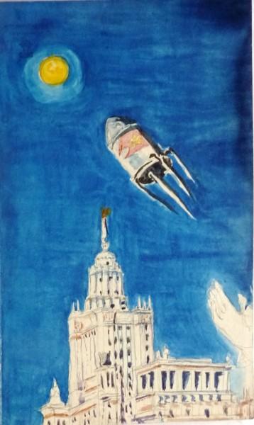 Margita Czóbelová, The Spacecraft I. (Sputnik)