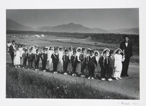 Viliam Malík, Rómske deti idú na prvé sv. prijímanie 1952