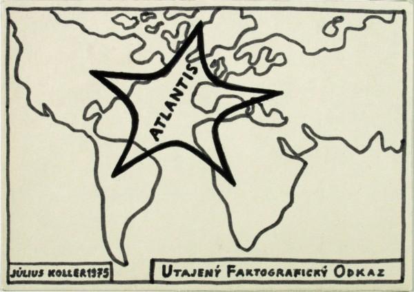Július Koller, Atlantis. Utajený Faktografický Odkaz