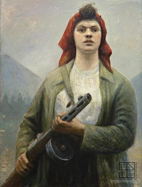 Ján Mudroch , Partizánka na stráži pod Rozsutcom