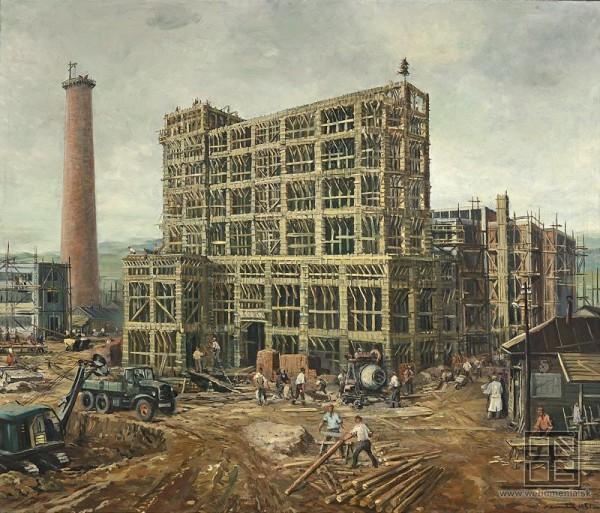 Július Nemčík, Industrializácia nášho kraja