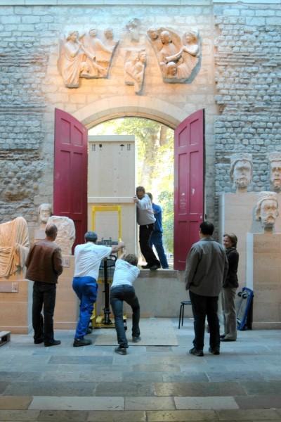 Dušan Buran (foto), Transport diel na výstavu do Museé Cluny