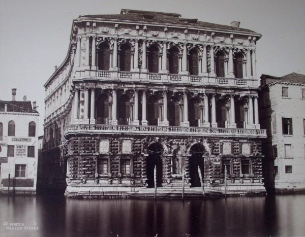 Neznámy autor, Palác Pesaro (Palazzo Ca´Pesaro)