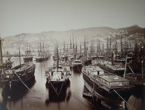 Alfred Noack , Genova. Port